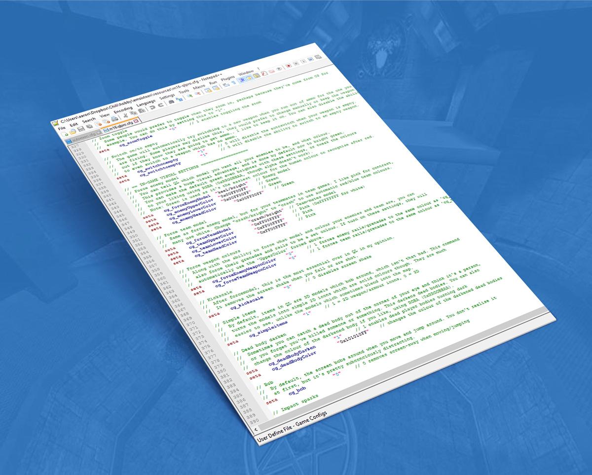 Quake Live essential cfg tweaks by EmSixTeen