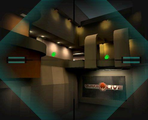 Quake Live: Quake 4 zoom crosshair hud