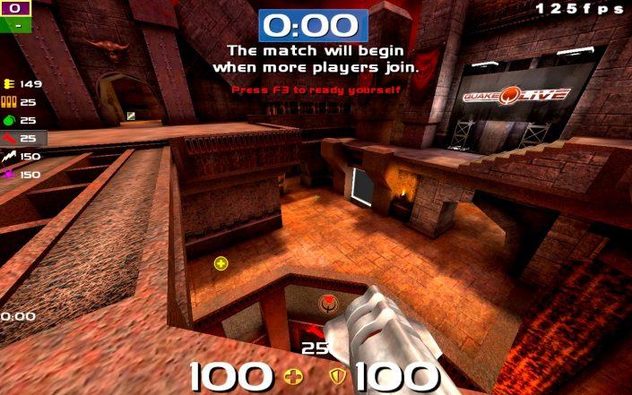 Quake Live: EmSixTeen's noobHUD