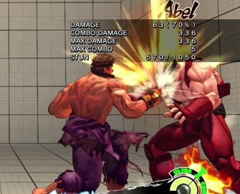 USFIV: Ryu Max Damage Counterhit Combo